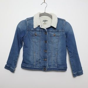 OshKosh B'gosh | Sherpa Lined Denim Button Jacket